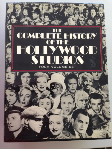 The Complete History of the Hollywood Studios (Four Volume Set)