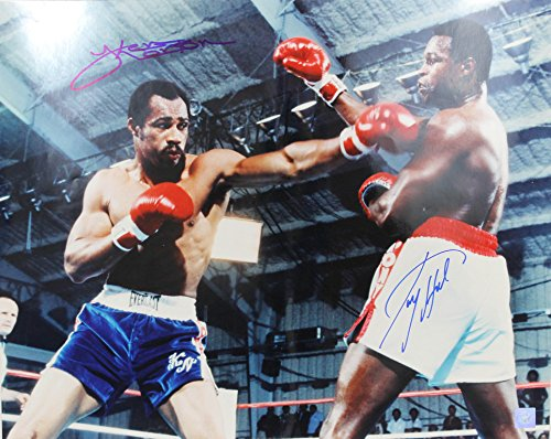 Ken Norton and Larry Holmes Autographed  - Larry Holmes Photograph Shopping Results