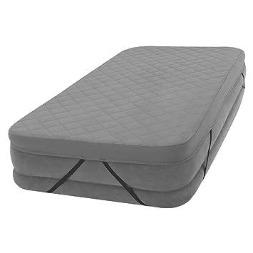 Intex 69643 - Funda acolchada colchón 100% poliéster 152 x 203 x 10 cm: Amazon.es: Hogar