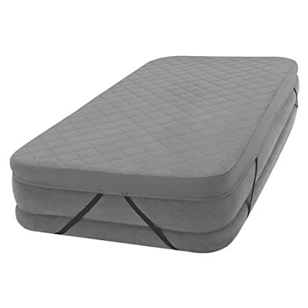 Intex 69643 - Funda acolchada colchón 100% poliéster 152 x 203 x ...