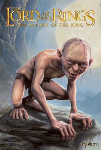 The Lord Of The Rings Poster Gollum Rare Hot New