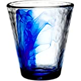 Bormioli Rocco Murano 14.25 Oz. Cobalt Blue Beverage Glass, Set of 4, Standard Packaging