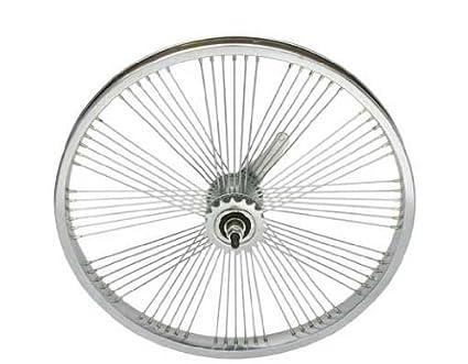 Amazon Com 20 72 Spoke Coaster Fan Wheel Crome Sports Outdoors