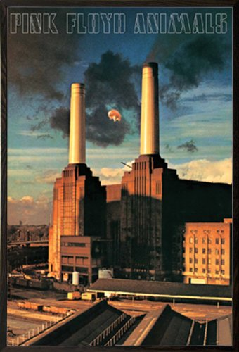 pink floyd animals poster a