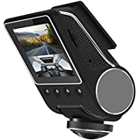REXING Q7 2.5 FHD 1080P 360 Wide Angle Dash Cam with Parking Monitoring Mode, WiFi, Night Vision, Front and Rear, G-Sensor Car Dashboard Camera