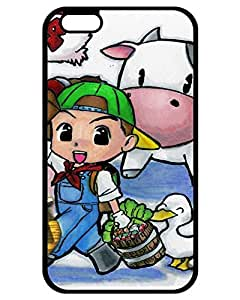 Sandra J. Damico's Shop 5184135ZB689235533I6P Durable Protector Case Cover With Harvest Moon 64 Hot Design For iPhone 6 Plus