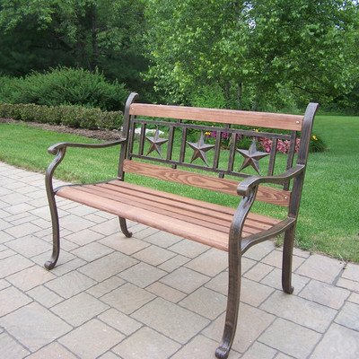 Oakland Living Triple Star Bench (Star Bench)