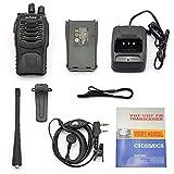 CC-JJ - UHF 400-470 MHz Handheld Walkie Talkie 2-way Amature