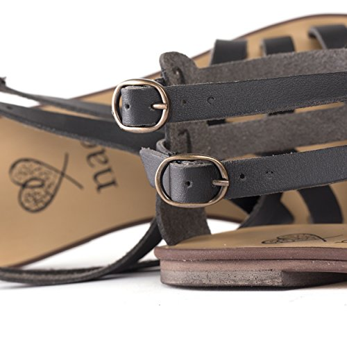 Vegan Breathable Nae Traspirante Flat Vegan And allergy Sandals Microfibra allergia Made Ecologica Sandali Anti Piatti Of Itaca Nae Fatto Microfiber Ecological Women E Donne Anti Di Itaca 6gwr6v
