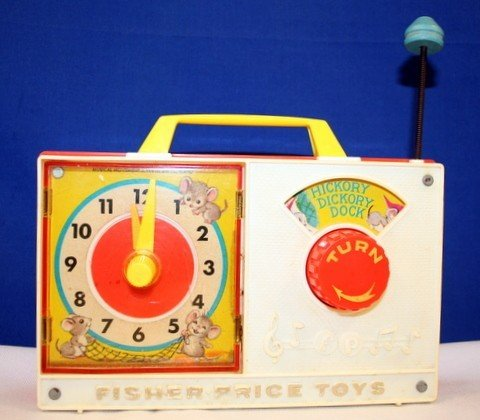 musical clock by fisher price - 9