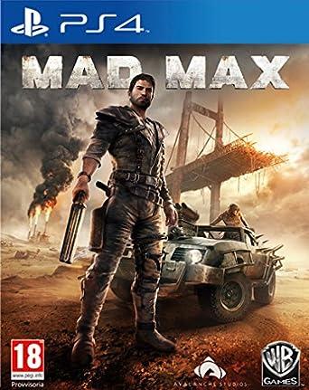 Warner Bros Mad Max Ps4 Basico Playstation 4 Italiano Video Juego