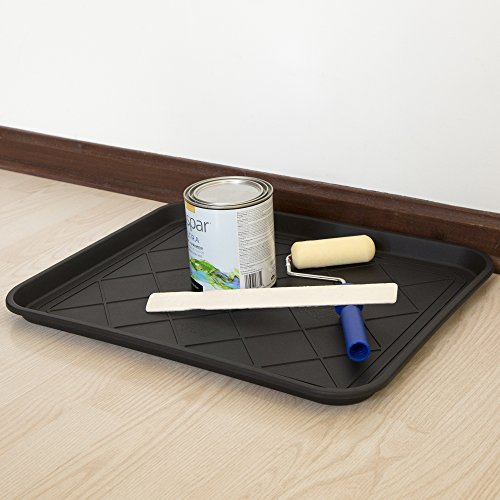 Stalwart 75-ST6013 ECO Friendly Utility Boot Tray Mat, 20'' x 15''/Small, Black by Stalwart (Image #5)