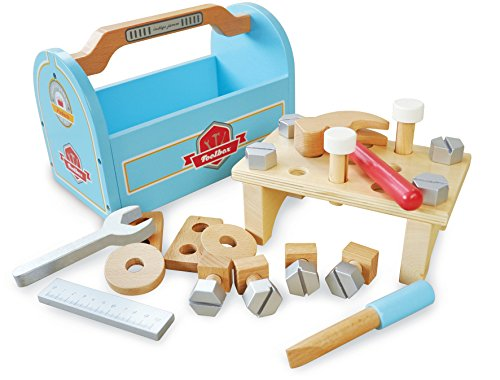 Indigo Jamm KIJ10082 Little Carpenters Tool Box Playset by Indigo Jamm