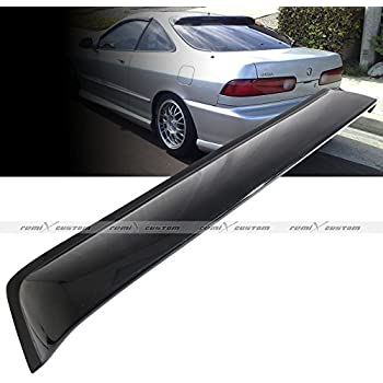 Rear Roof Window Sun Rain Shade Guard Visor Spoiler Wing fits Acura Integra