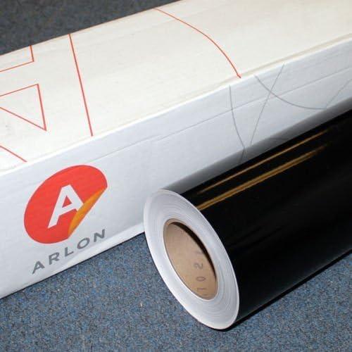 "Black Arlon 5000 1 Roll 24/"" X 50 Feet Sign Cutting Vinyl"