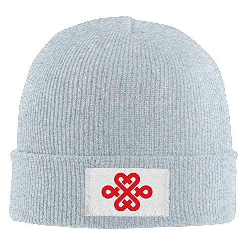 unisex-knit-cap-china-unicom-chinese-knot-logo-ash