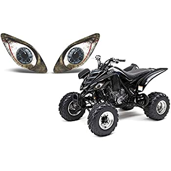 Amazon.com: AMR Racing ATV Headlight Eye Graphic Decal Cover ...
