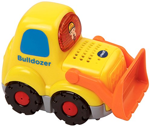 VTech Go! Go! Smart Wheels Bulldozer, (Motorized Bulldozer)