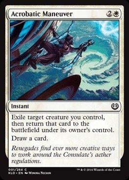 Magic: the Gathering - Acrobatic Maneuver (001/264) - Kaladesh