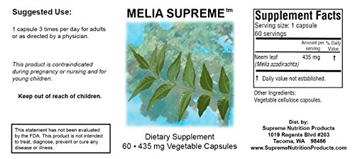 Melia Supreme Three Pack by Supreme Nutrition (Image #1)