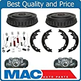 Mac Auto Parts 144353 Rear Brake Drum Drums Shoes Spring Kit Wheel Cylinder 9 In Ford Ranger Mazda B