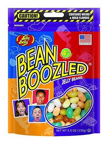 Jelly Belly BeanBoozled Jelly Beans, 4th Edition, 5.5-oz Bag