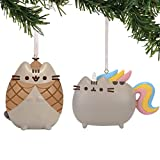 Department 56 Pusheen Whimsy Ornament Set, 2.5 inch