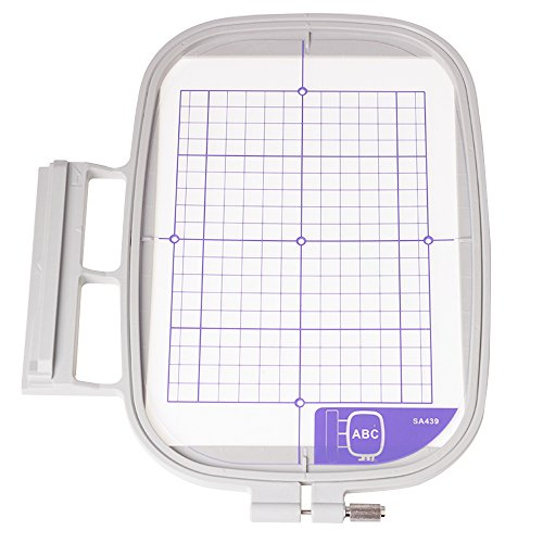 "YICBOR Large Embroidery Hoop 5"" x 7"" SA439(EF75) For Brot..."