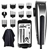ACANI Hair Clippers for men,Hair Clippers,Corded Hair Clippers for Men,21-piece Hair Cutting Kit with 27 Cutting Length, 10 Guide Combs, Hair Scissors, Storage Case for Families