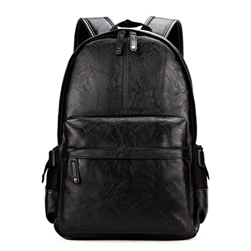 VICUNA POLO Man Leather Backpack Laptop Bag For 15inch Bu...