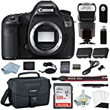 Canon EOS 5Ds Digital SLR Camera Kit - Body Only + Canon CarePak PLUS 13 Month Damage Protection + Professional Accessory Bundle - Including EVERYTHING You Need To Go Pro