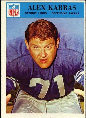 - Alex Karras Detroit Lions 1966 NFL Football Trading Card (Philadelphia Chewing Gum) (#69)