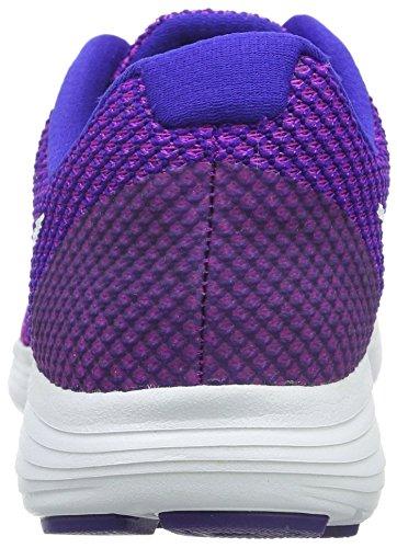 Nike Wmns Revolution 3, Zapatillas de Running Para Mujer Morado (Hypr Violet / White-Cncrd-Gmm Bl)