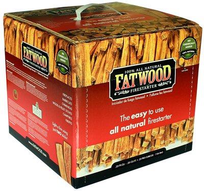 Wood Products Int'l 9910 10LB Fat Wood or Wooden Firestarter