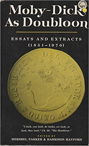 1851-1970. Essays and Extracts Moby-Dick as Doubloon
