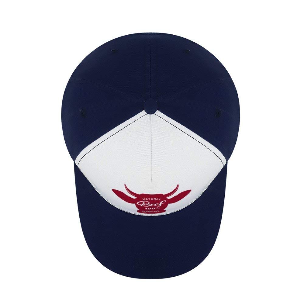 Where The BeefTop Level Baseball Caps Men Women Classic Adjustable Plain Hats Dad Hats