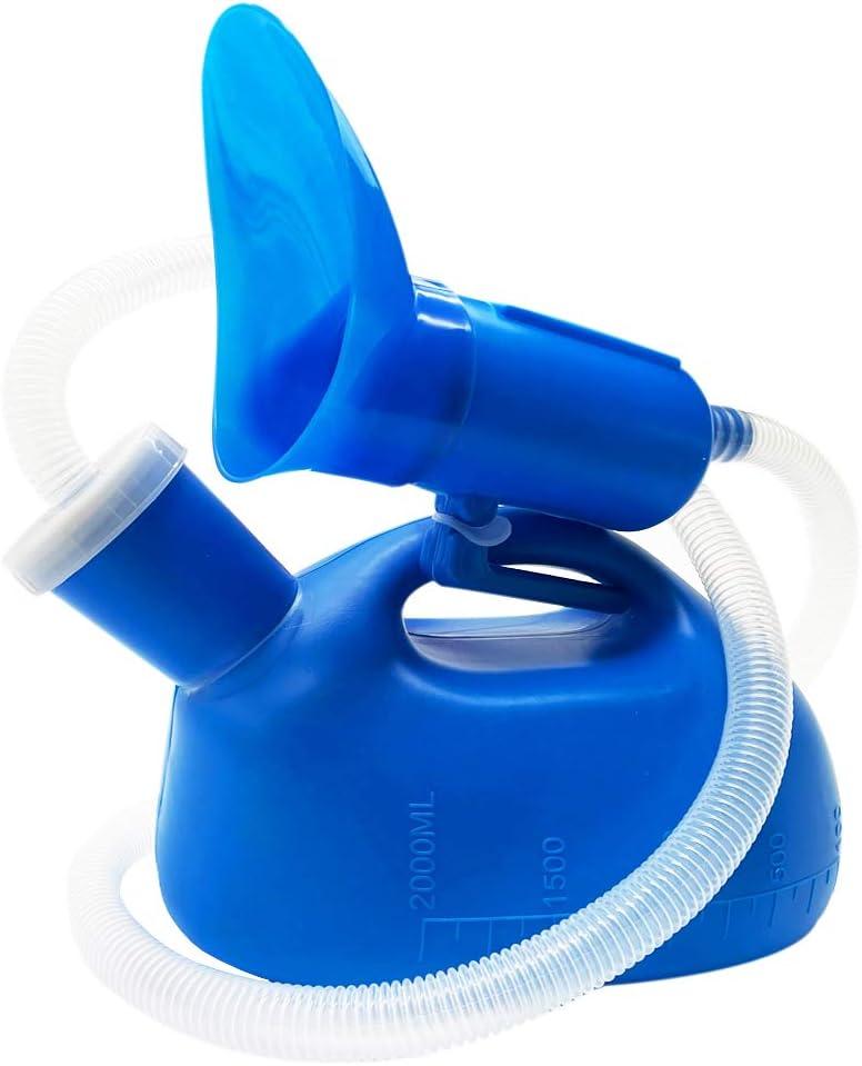 2000mL Handheld Portable Male Urinal Pee Bottles Car Travel Camping Toilet Loo