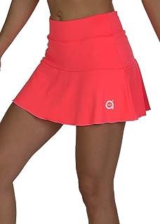 a40grados Sport & Style, Falda Flip Naranja, Mujer, Tenis y ...