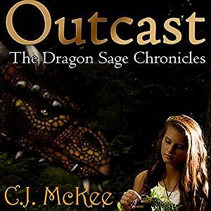 Outcast: The Dragon Sage Chronicles Audiobook