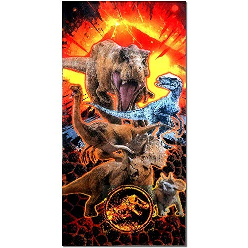 Jurassic World Beach Towel