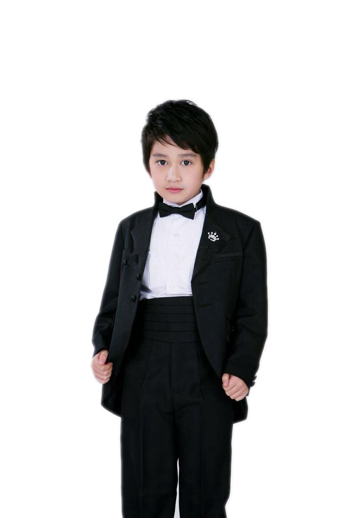 MLT Boy's Long 2-piece Wedding Party Prom Suits (XL)