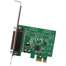 IO Crest 1 Port DB25 Parallel Printer Lpt1 PCI-Express 2.0 X1 Card Components Other SI-PEX10011