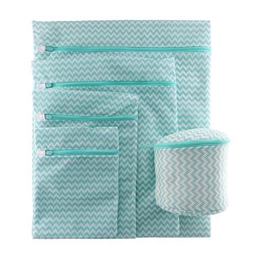 Delicate Mesh Laundry Bag, Bra Laundry Wash Bag Travel, Baby Lingerie Mesh Wash Bag 5 Pack