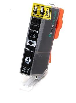 5 x PGI-525BK x4 negro cartuchos de tinta compatible con chip para Canon: Amazon.es: Oficina y papelería