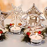 Christmas Tree/Pentagram Tealight Candle Holders