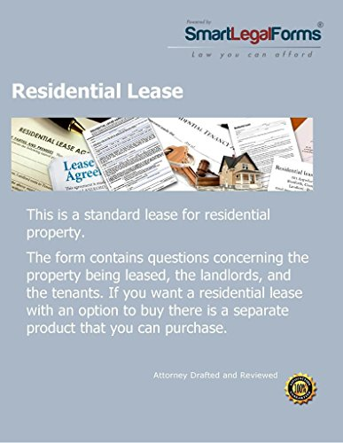 Residential Lease [Instant Access] by SmartLegalForms, Inc.
