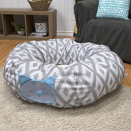Kitty City Large Cat Tunnel Bed, Cat Bed, Pop Up Bed, Cat Toys, Christmas Tree 8