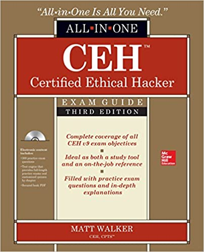 Ceh certified ethical hacker all in one exam guide third edition ceh certified ethical hacker all in one exam guide third edition matt walker 9781259836558 amazon books fandeluxe Choice Image
