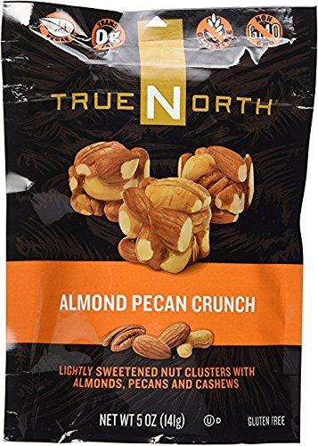 TRUE NORTH ALMOND PECAN CRUNCH (3 BAGS): VEGAN; GLUTEN FREE; NON-GMO