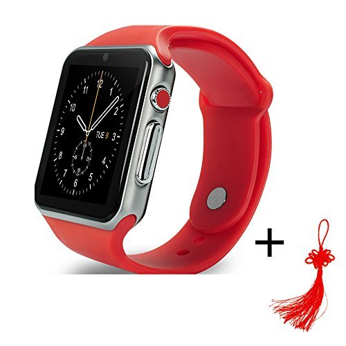 MyOhYa Bluetooth Smartwatch Kids Smart Baby Watch Wrist Healty Watch Phone Support Android&IOS Iphone 7 7s SE 6 6S Samsung All Smartphone and Good Gift for Kids